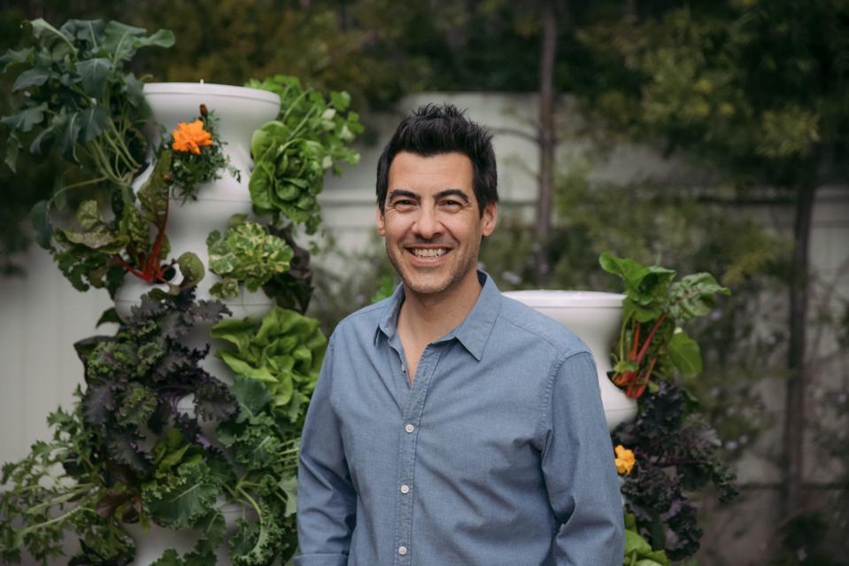Lettuce Grow co-founder and CEO Jacob Pechenik