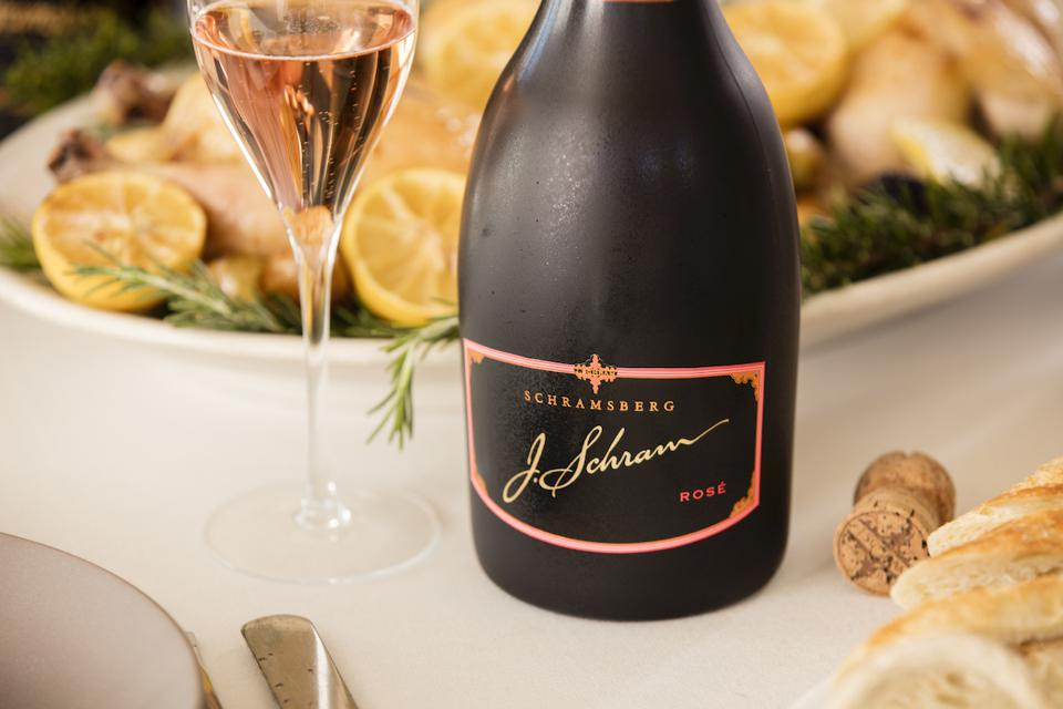 Schramsberg J Schram Rosé Champagne Sparkling Wine Napa Valley Mother's Day Guide Guide Wine