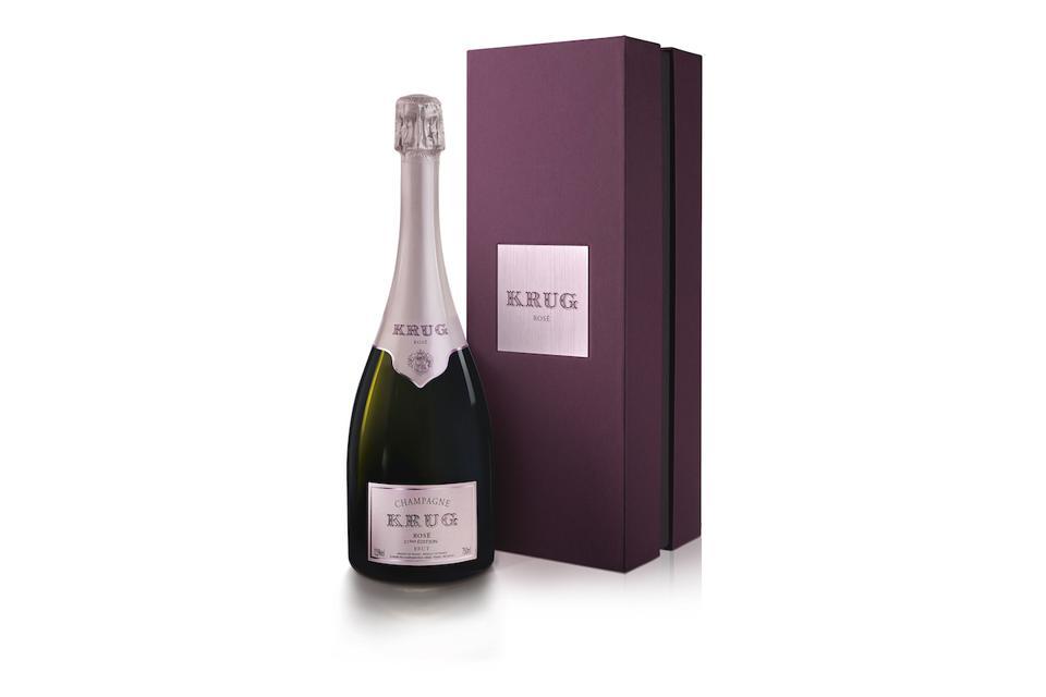 Champagne Krug Rosé 23eme Edition Mother's Day Gift Guide Wine Vintage
