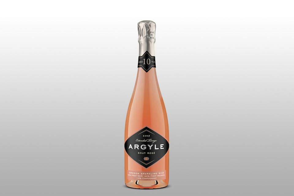 Argyle Extended Tirage 2009 Brut Rosé Champagne Sparkling Wine Mother's Day Gift Guide