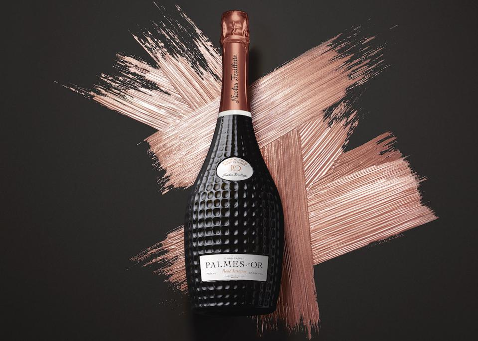 Nicolas Feuillatte Palmes D'or Rosé Champagne Wine Mother's Day Gift Guide Luxury Brut