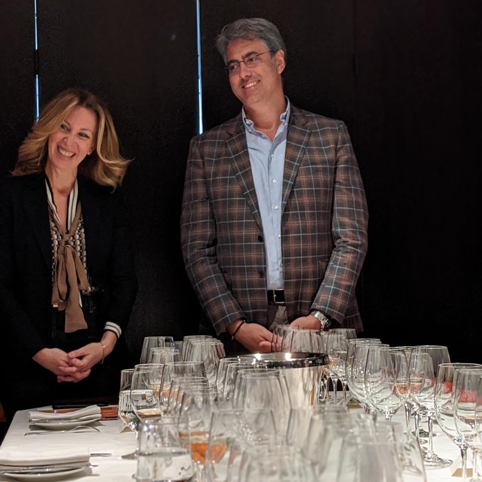 Romina Leopardi and Luigi Rubino, Owners of Tenute Rubino