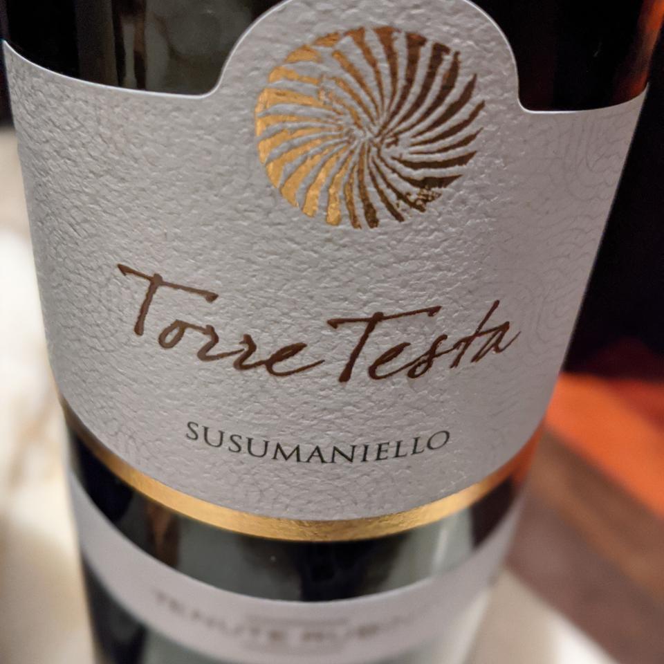 Tenute Rubino, 'Torre Testa', Susumaniello, Rosso (Red)