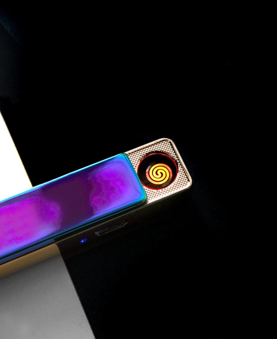 A slide lighter opening