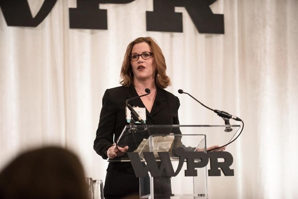 WWPR Woman of the Year Award Maura Corbett