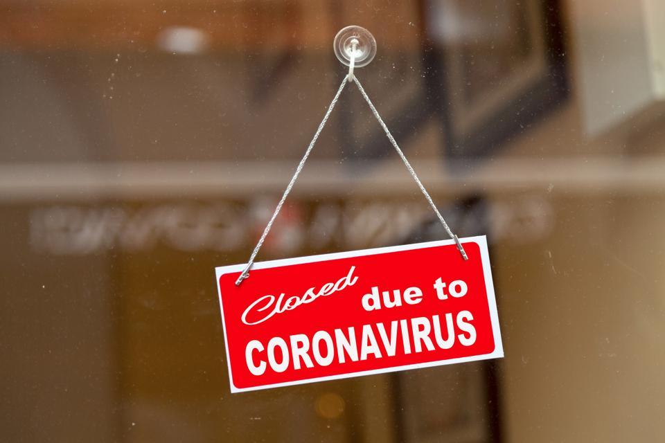 Closed due to coronavirus