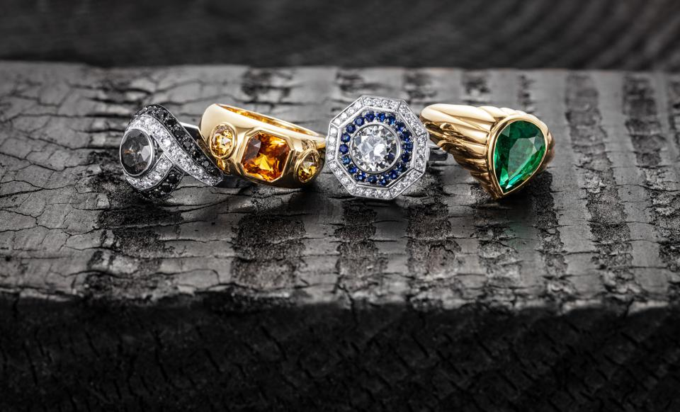 Engagement ring collection, By Bear Brooksbank Studio