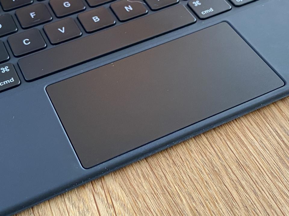 Trackpad on the Magic Keyboard for iPad Pro