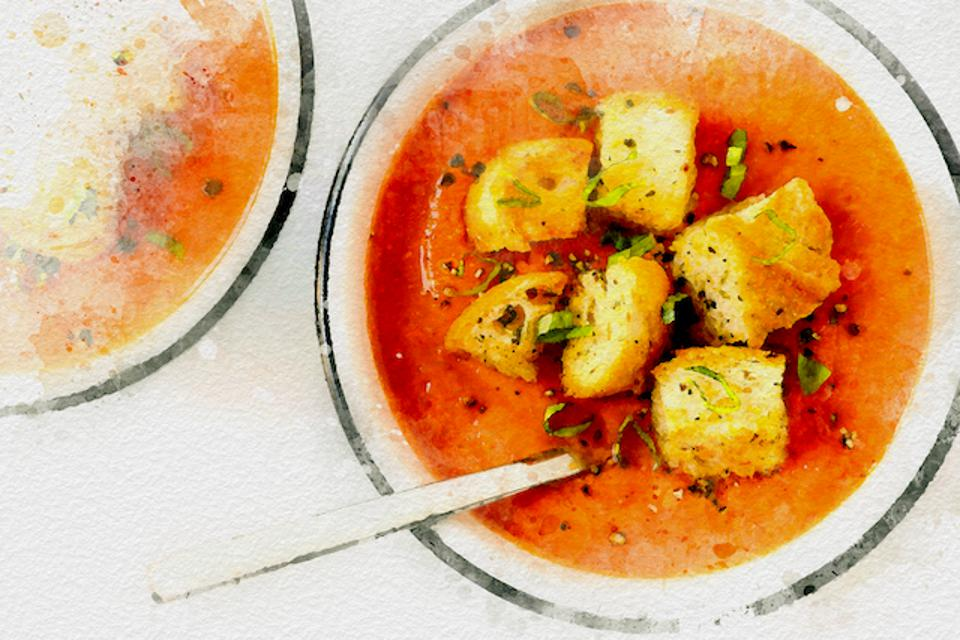 Andalusian Gazpacho from Spain
