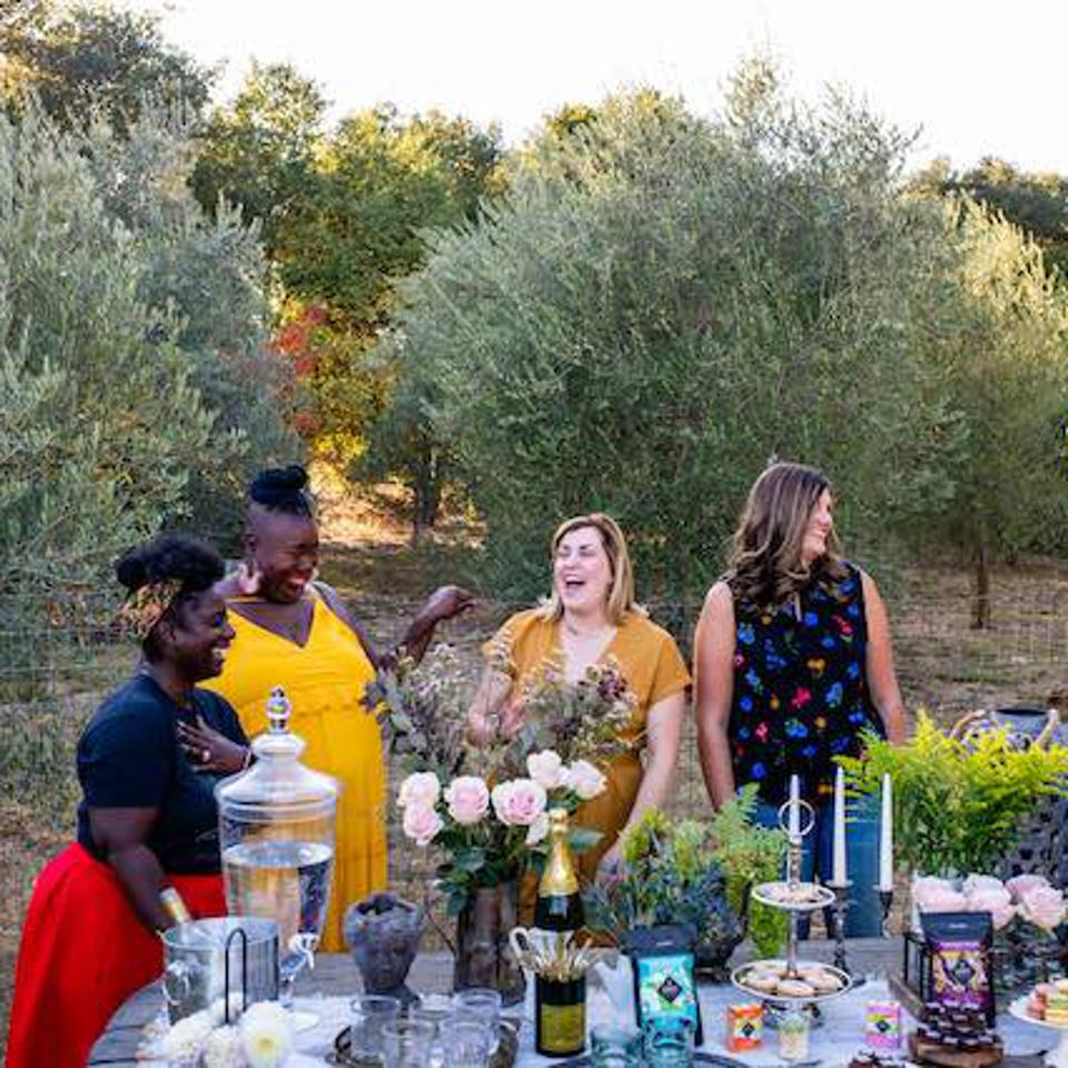 Garden Society party in Sonoma County