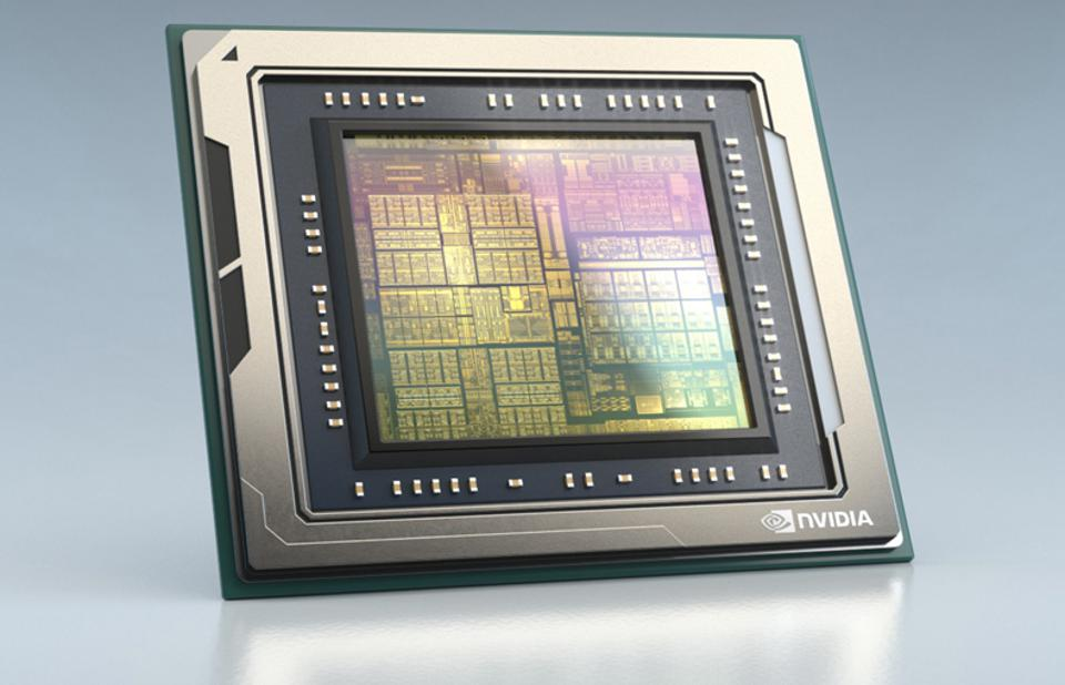 Figure 1: A chip as complex as the NVIDIA Drive AGX Orin is built from 17 billion transistors.  Ironically, the AI that is enabled by such as chip can be used to build such a chip.