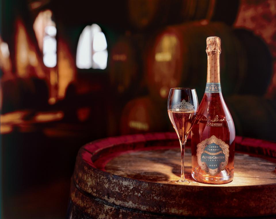 Alfred Gratien Cuvée Paradsis Rosé Champagne Brut Wine Mother's Day Gift Guide Luxury Cellar