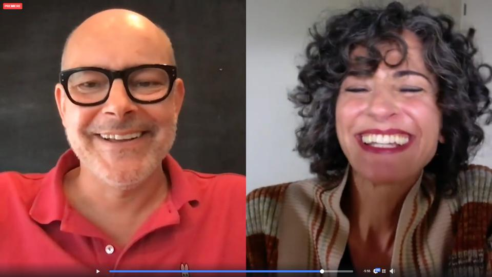 Screenshot of Rob Corddry talking to Dr. Rachel Pearl