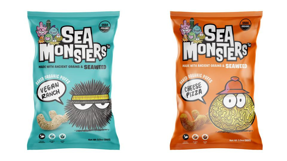 Sea Monsters sources seaweed from Scotland.
