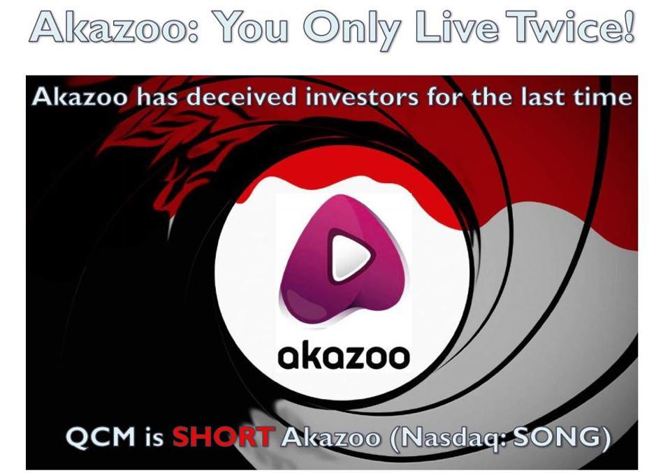 Image in QCM's slide deck on Akazoo