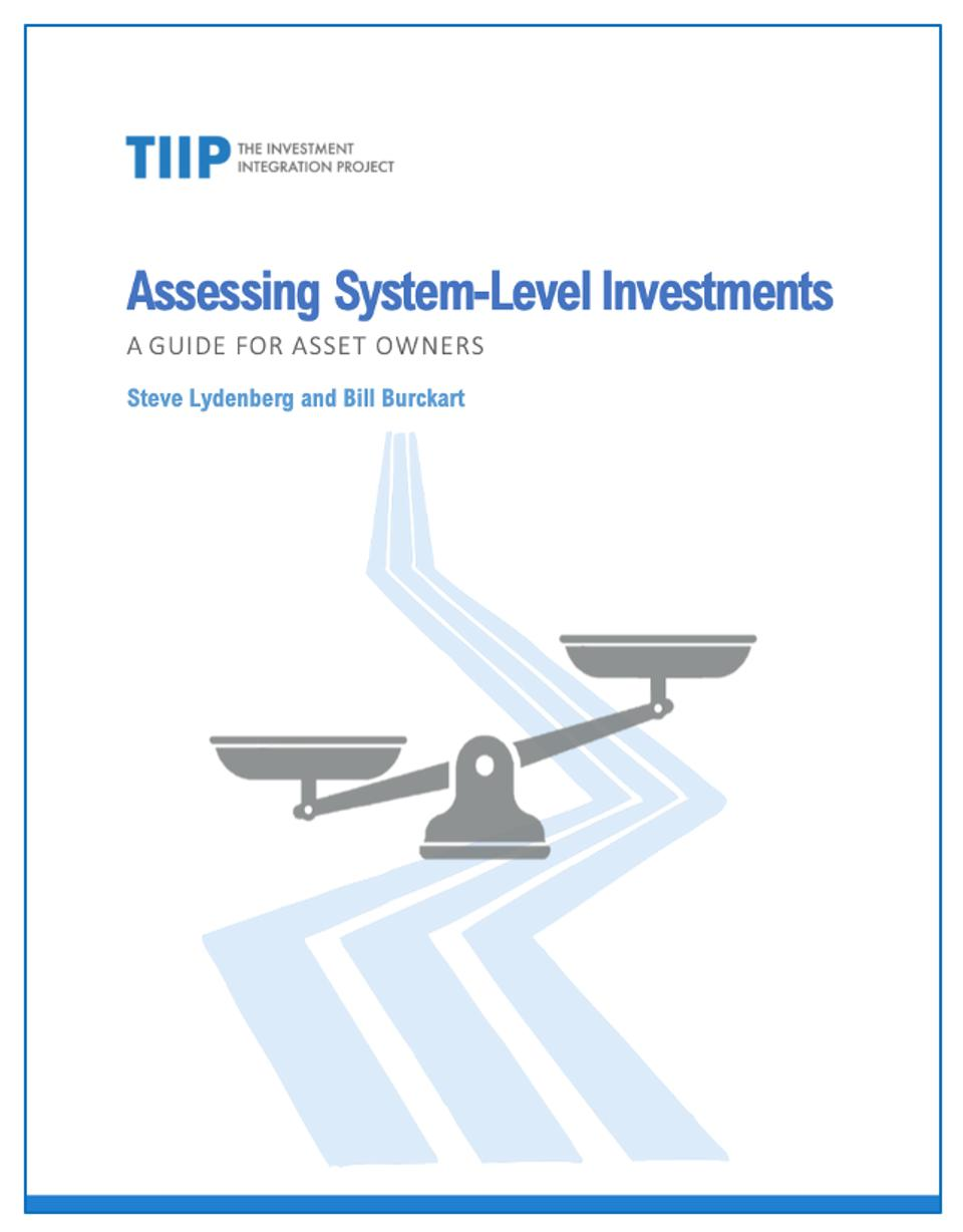 Assessing System Level Investments