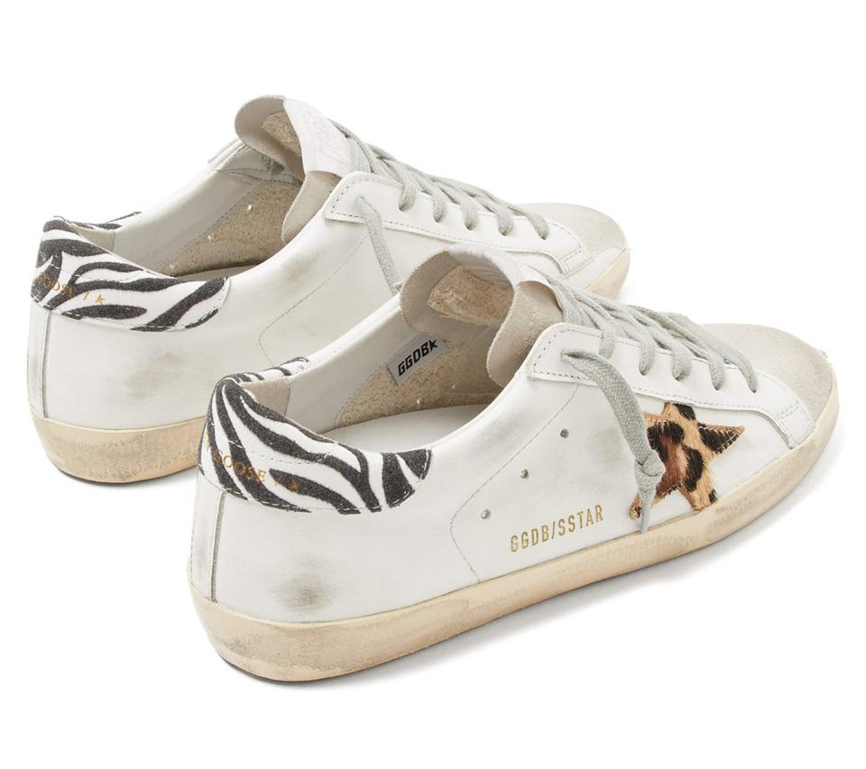 Superstar Leather Trainers by Golden Goose