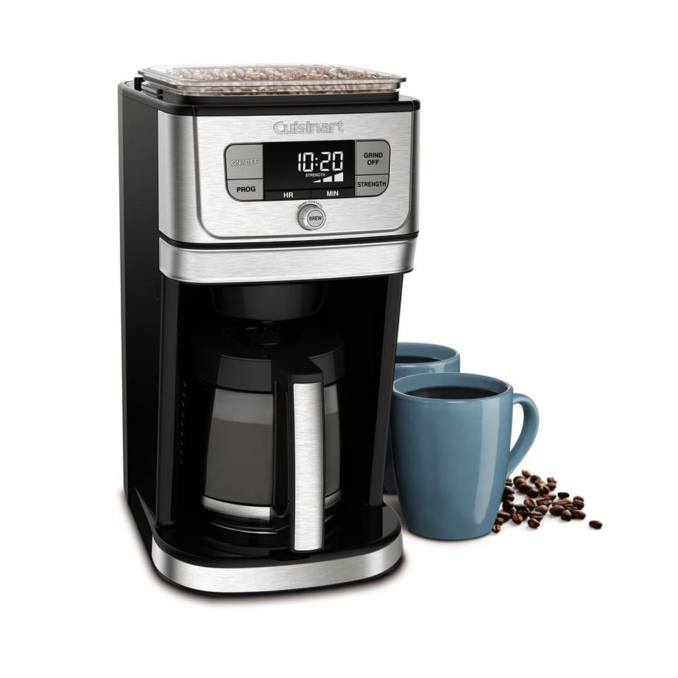 Cuisinart Burr Grind and Brew 12-Cup Stainless Steel Drip Coffee Maker