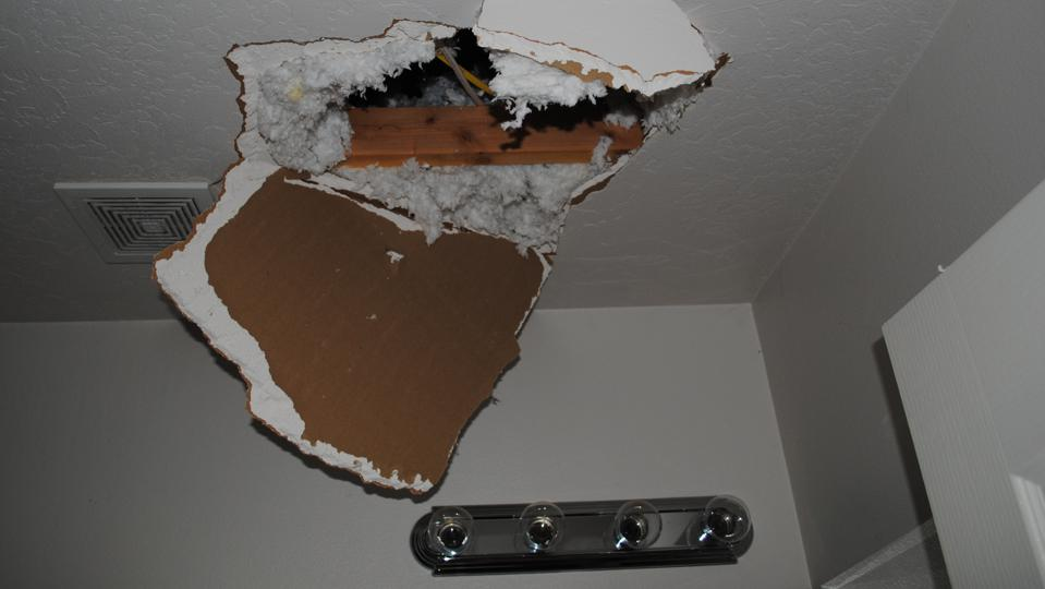 ceiling damaged tear gas police assault qualified immunity