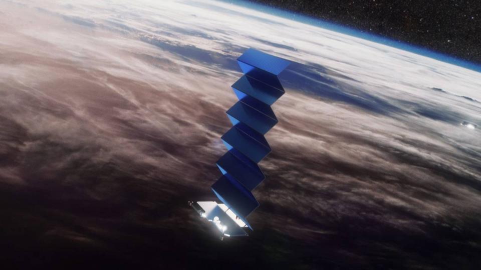 starlink in orbit