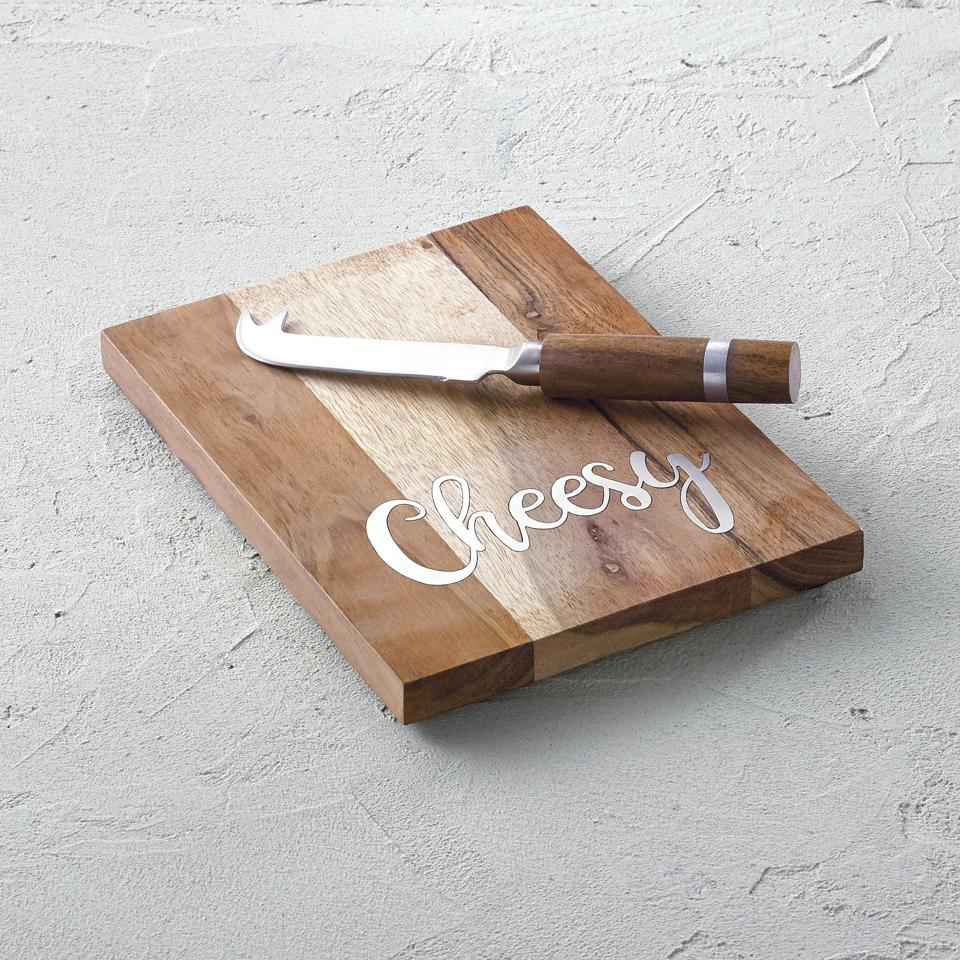 Cheese Boards with Cheese Knife