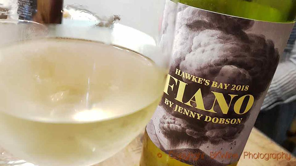 Fiano from Hawke's Bay, New Zealand, made by Jenny Dobson