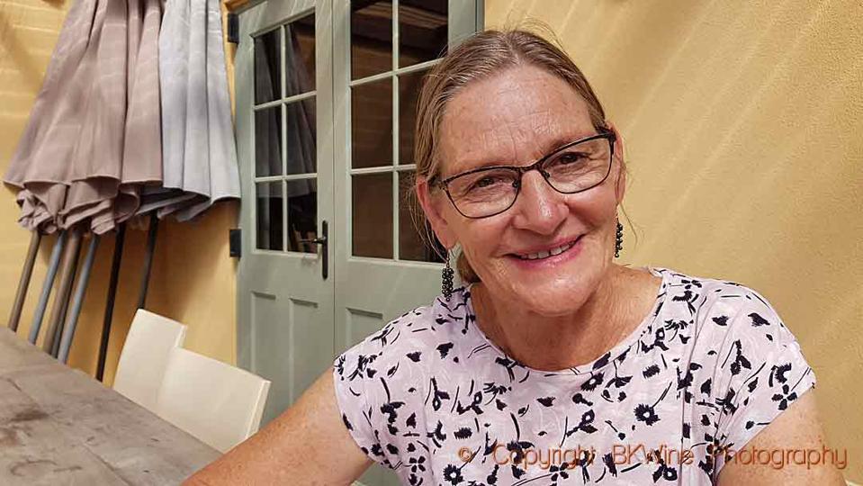 Jenny Dobson, winemaker at Unison Vineyards