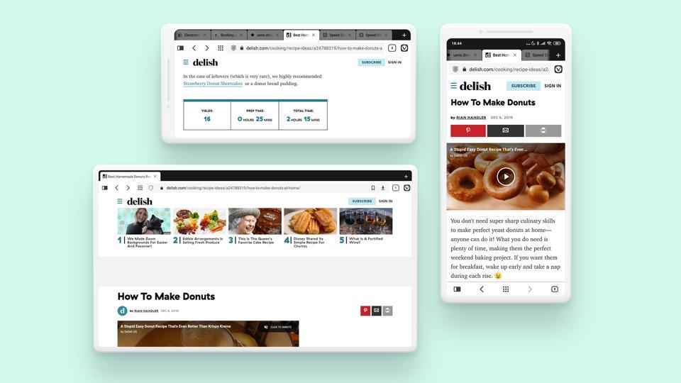Vivaldi mobile browser