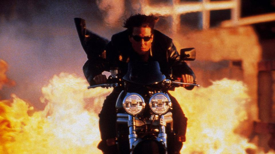 Tom Cruise in John Woo's 'Mission Impossible II'