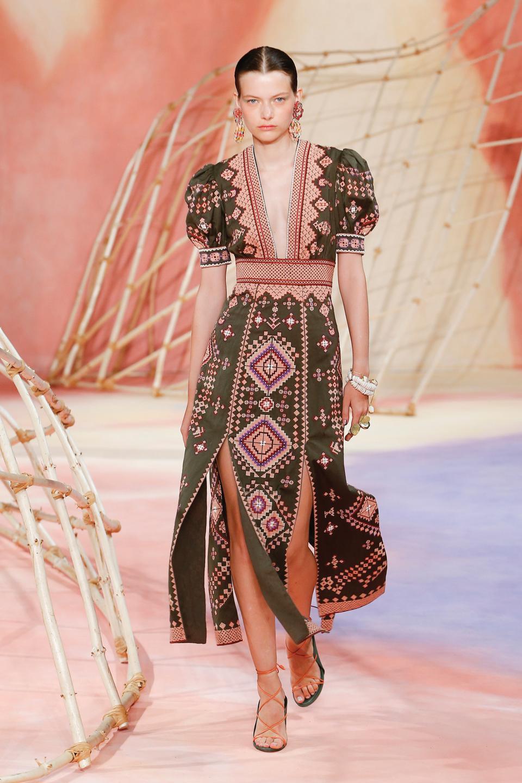 beauty trends Ulla Johnson Spring 2020