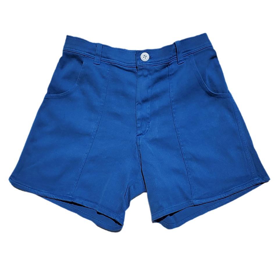 blue hemp shorts