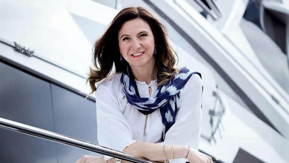 Azimut Benetti Group Vice President Giovanna Vitelli is committed to creating innovative new yachts