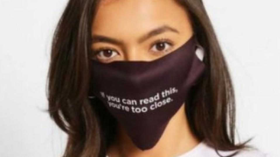 Boohoo have since withdrawn the coronavirus themed masks