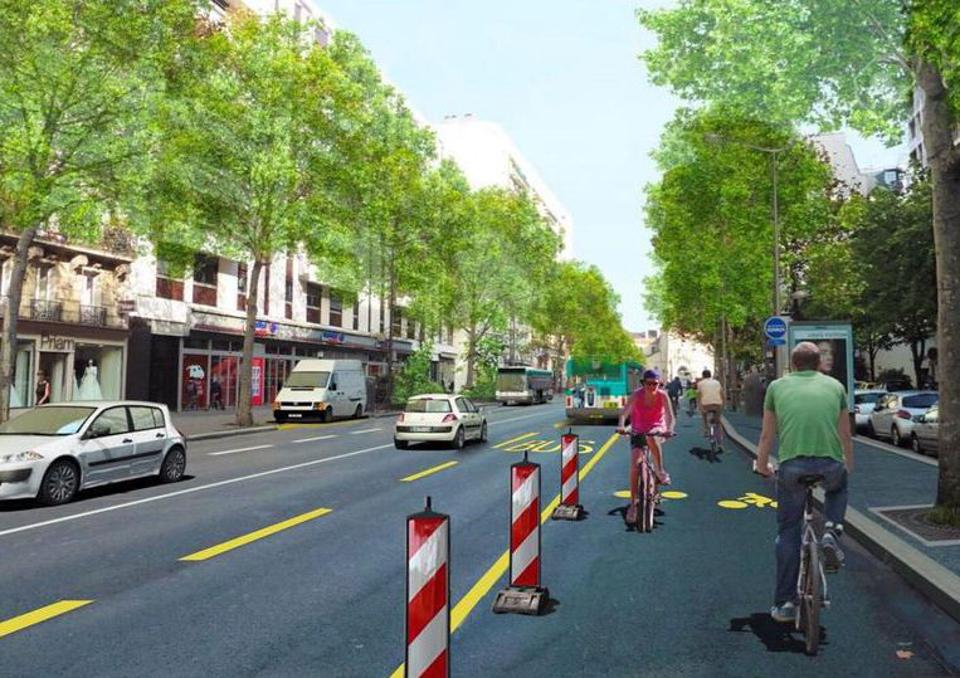Paris To Create 650 Kilometers Of Post-Lockdown Cycleways