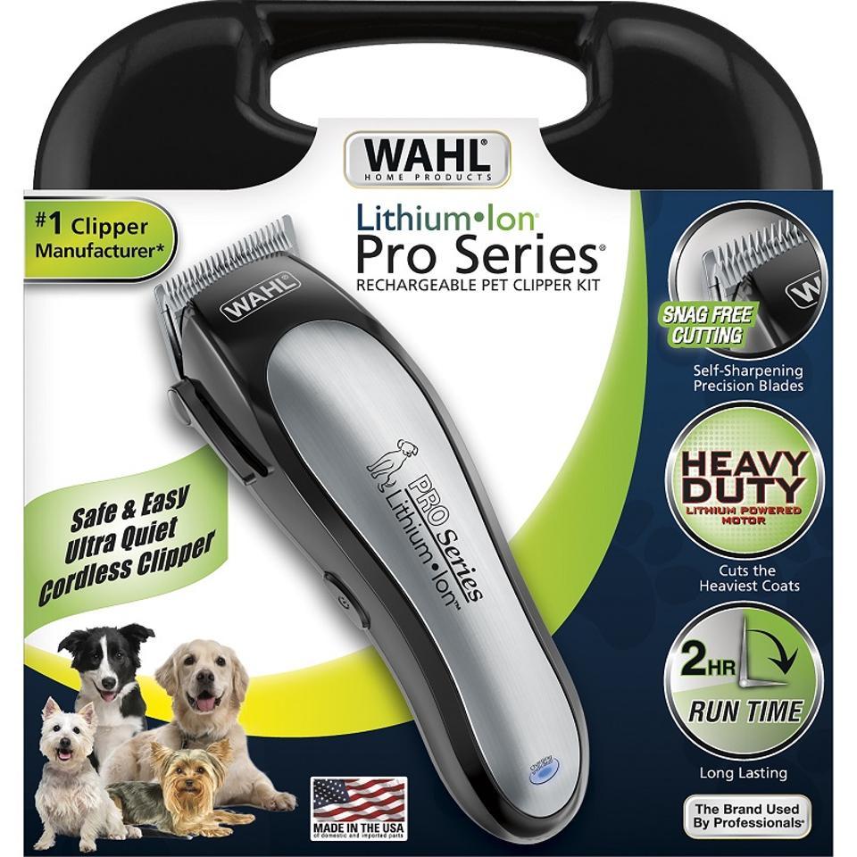 Wahl cordless dog trimmer