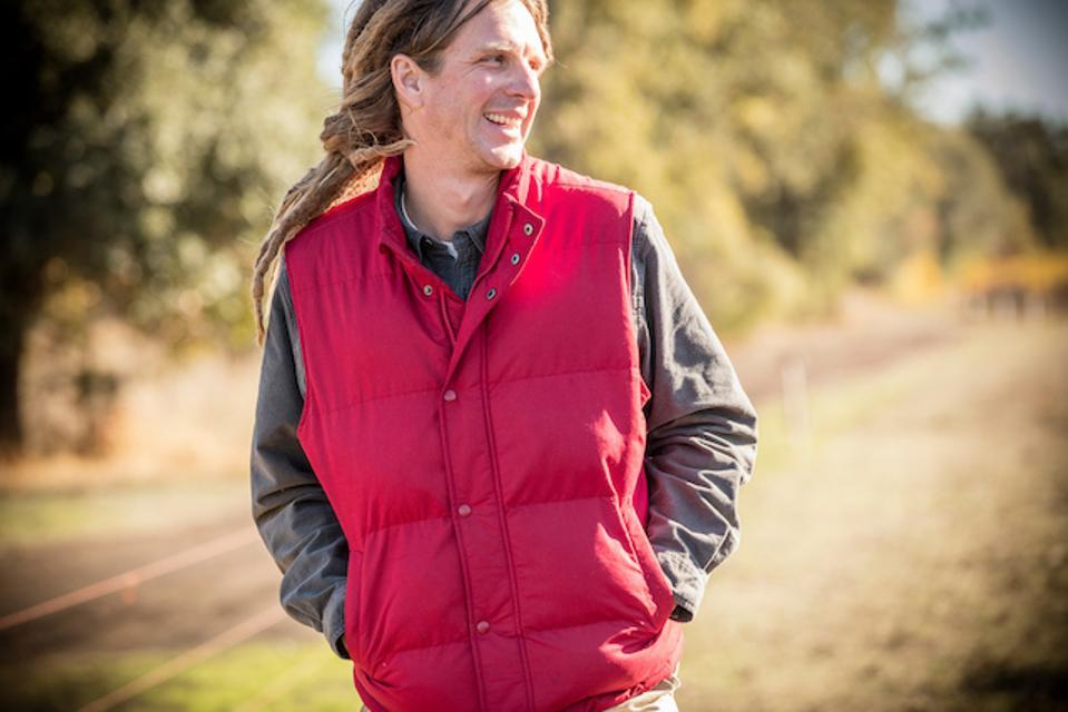 Joseph Brinkley, director of vineyards at Bonterra