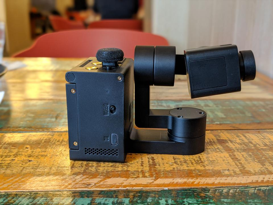 The IdolCam weighs only 275g
