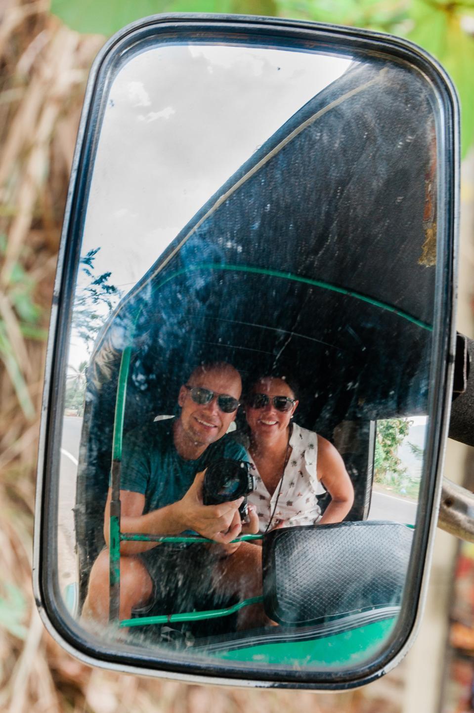 Maria Wulff Hauglann, Espen Egeland mirror image.