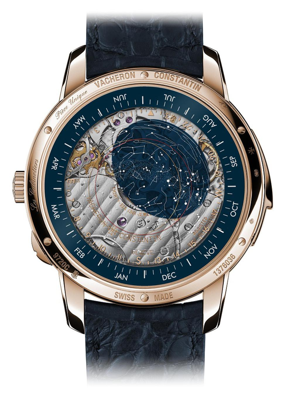 """The caseback of the Les Cabinotiers Astronomical Striking Grand Complication – """"Ode to Music"""""""