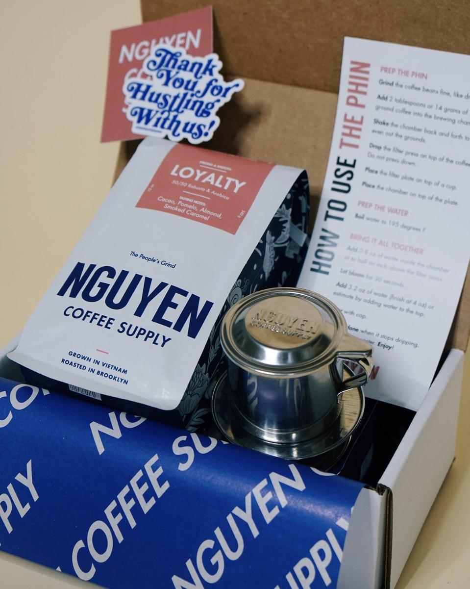 NGUYEN Vietnamese Coffee Original Phin Kit