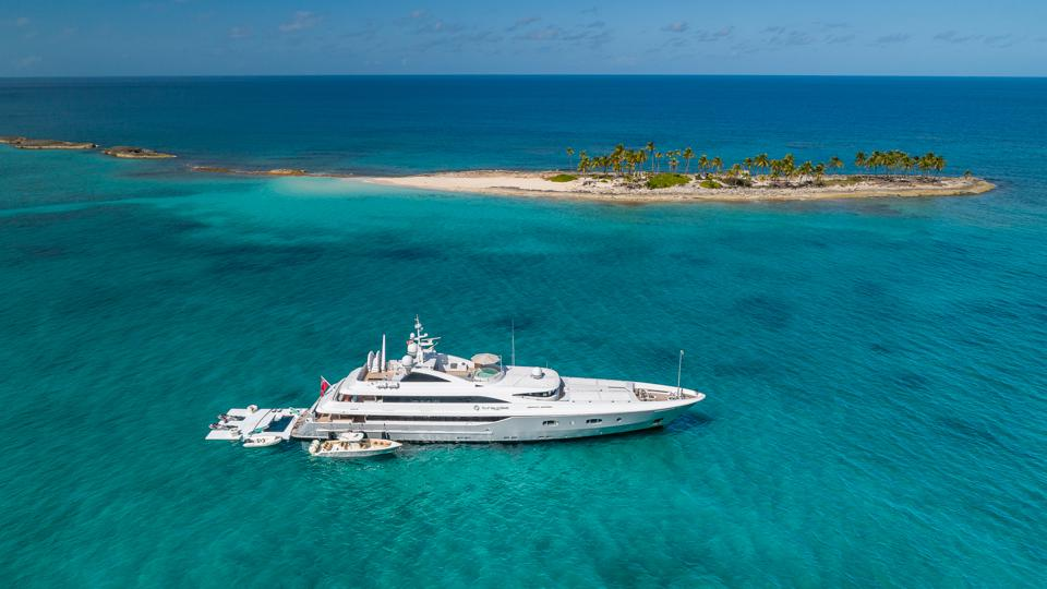 Superyacht social distancing is the best there is!