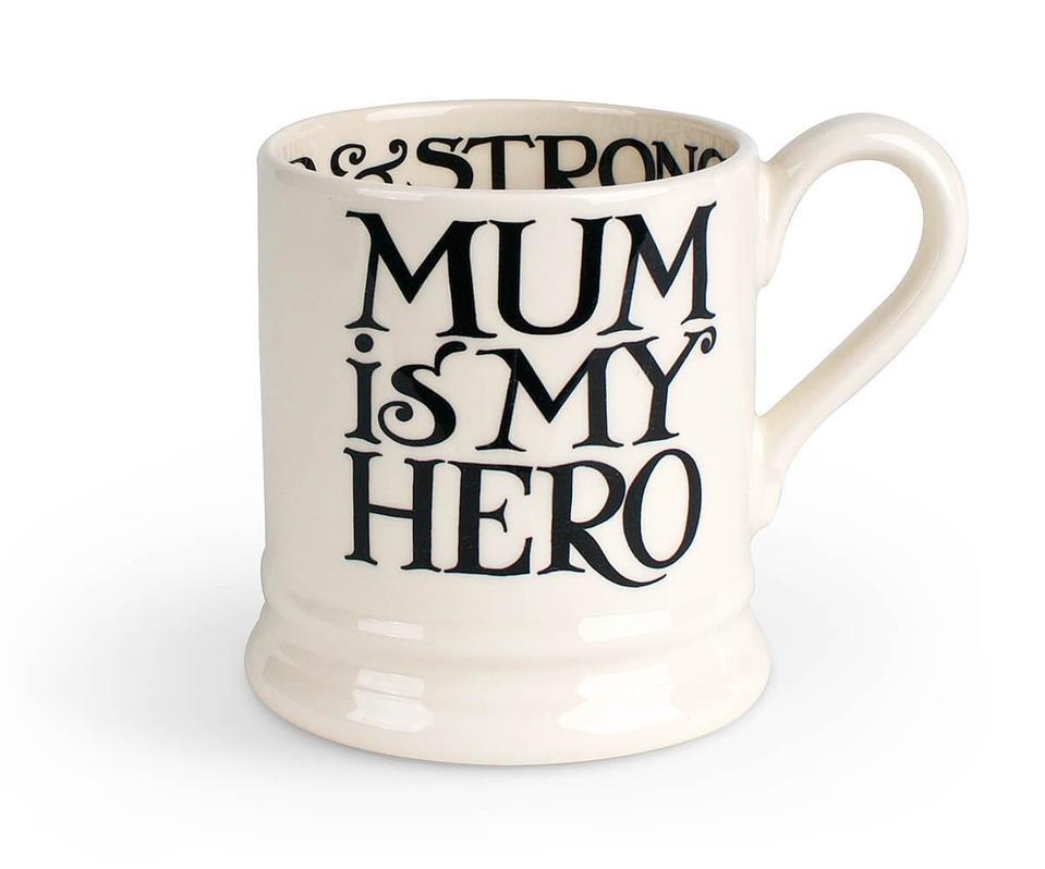 Mum Is My Hero 1/2 Pint Mug