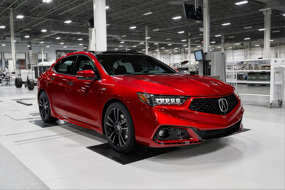2020 Acura Tlx Pmc Edition Test Drive And Review Performance And Precision