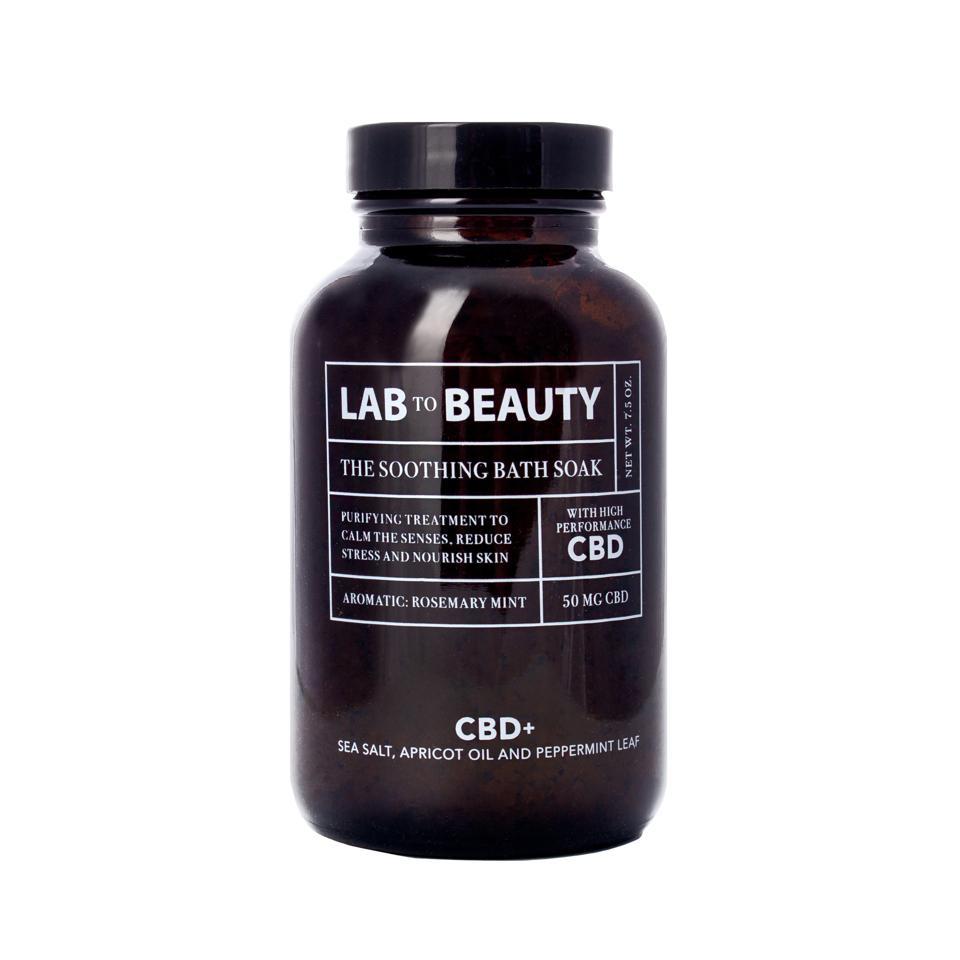 Lab to Beauty, CBD bath soaks, CBD wellness, Mother's Day gifts, luxury cannabis