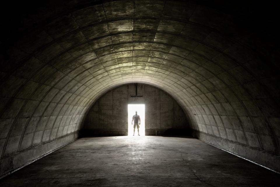 Inside Vivos XPoint bunker