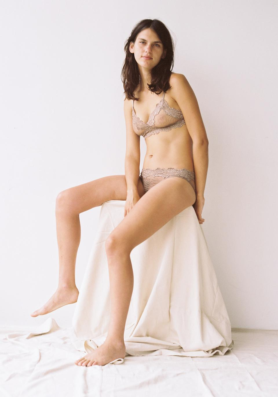 Bonnie Softcup Bra Taupe