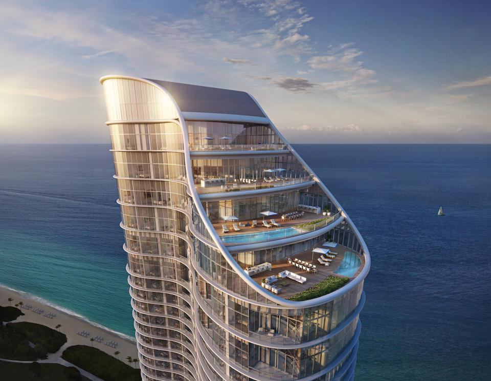 Luxury Miami real estate development realtors architecture