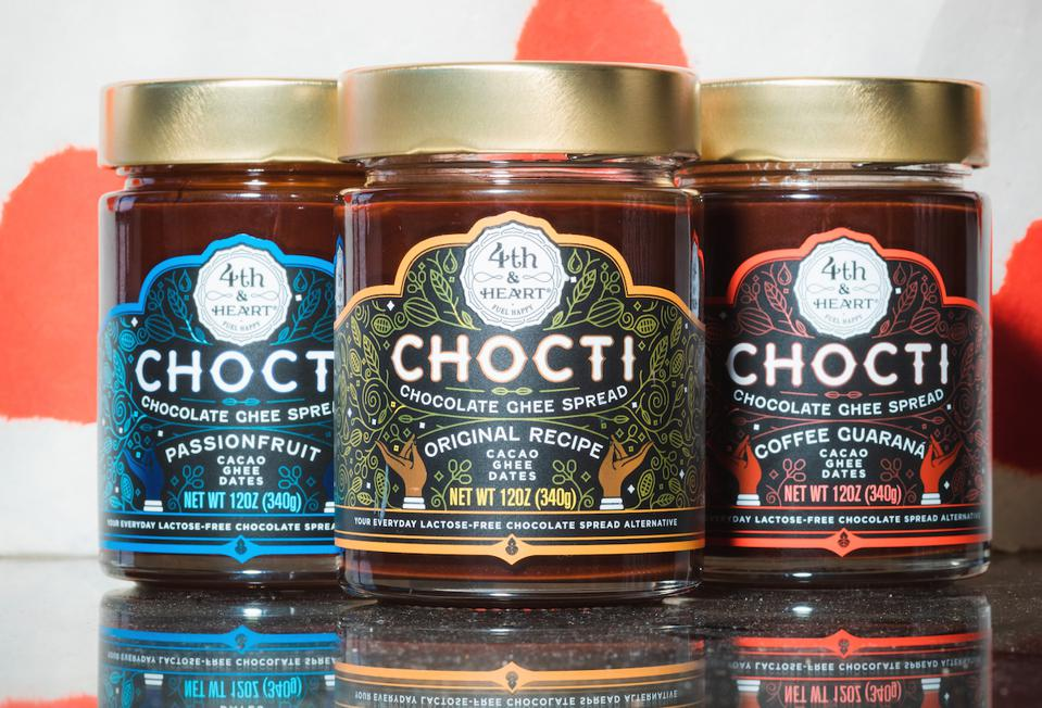Chocti Cacao Spreads Coffee Guarana Passion Fruit Mother's Day Gift Guide Luxury