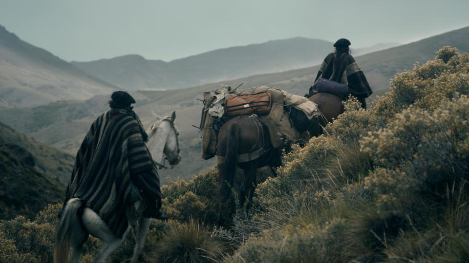 Riders in Patagonia