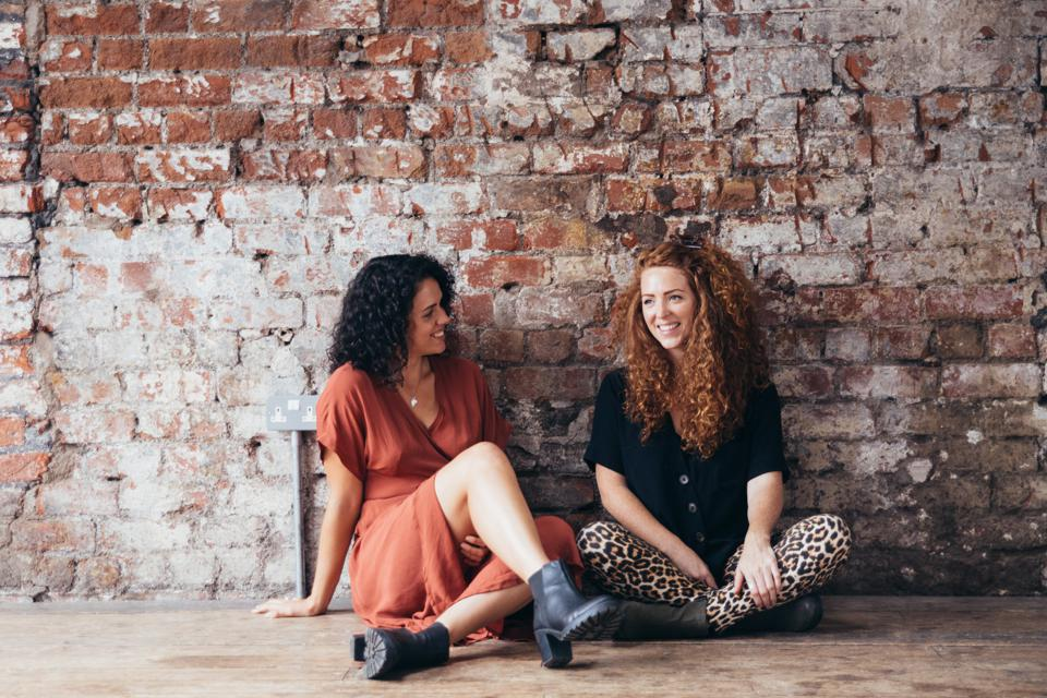 Nikki and Leah, founders of ohne